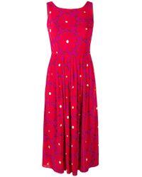 Siyu - Floral Print Flared Dress - Lyst