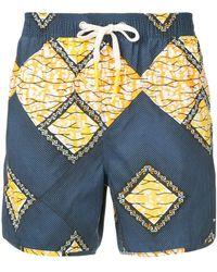 The Upside - Mosaic Shorts - Lyst