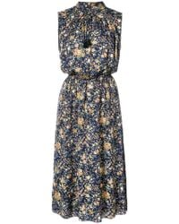 Adam Lippes - Patterned Dress - Lyst