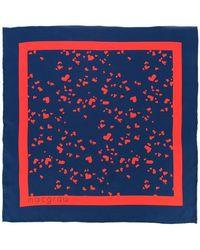 Macgraw - Heart Print Neck Tie - Lyst
