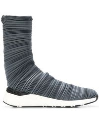 Casadei - Plissé Bandage Sock Boots - Lyst