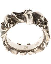 Werkstatt:münchen | Bones + Skulls Ring | Lyst