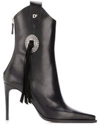 b7f86dfb6e9 DSquared² - Rodeo Ankle Boots - Lyst