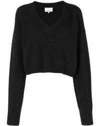 3.1 Phillip Lim - Cropped Fitted Jumper - Lyst