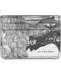 Burberry - Porte-cartes imprimé Dreamscape - Lyst