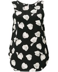 Theory - Printed Sleeveless Top - Lyst