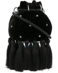 Parlor - Tasselled Shoulder Bag - Lyst