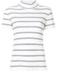 A.P.C. - Striped Top - Lyst