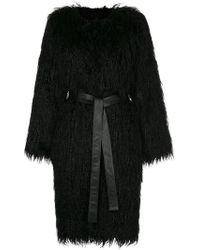 Nili Lotan - Faux Fur Shaggy Coat - Lyst