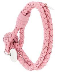 Bottega Veneta - Boudoir Intrecciato Nappa Bracelet - Lyst