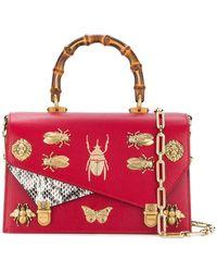 875e0e41c0a Lyst - Gucci Soft Signature Shoulder Bag in Red