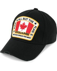 DSquared² - Canadian Flag Patch Baseball Cap - Lyst
