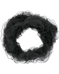 Armani - Ruffled Scarf - Lyst