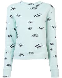 Print Statesman Elder Rose Sweatshirt Eye The Zqt5Y