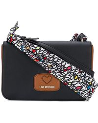 Love Moschino - Double Shoulder Strap Bag - Lyst
