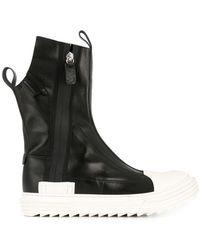 Artselab - 10154 Black/white Leather - Lyst