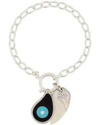 Gemco - Evil Eye And Tusk Charm Bracelet - Lyst