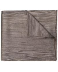 Maria Lucia Hohan - Crease Effect Scarf - Lyst