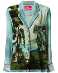F.R.S For Restless Sleepers - Printed Shirt - Lyst