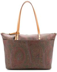 Etro - Paisley Knot Tote Bag - Lyst