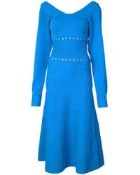 Prabal Gurung - Scoop Neck Convertible Knitted Dress - Lyst