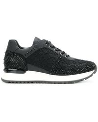 Gianni Renzi - Embroidered Low-top Sneakers - Lyst