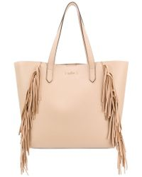 Hogan Rebel - Fringe Trim Tote - Lyst