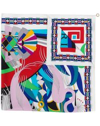 BVLGARI | Patterned Scarf | Lyst