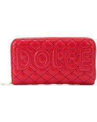 Dolce & Gabbana - Quilted Logo Wallet - Lyst