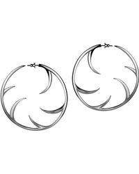 Shaun Leane - 'multi Cat Claw' Hoop Earrings - Lyst
