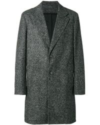 KENZO - Classic Single-breasted Coat - Lyst