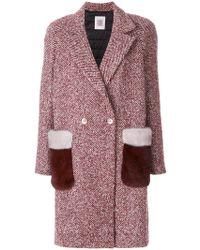 Eleventy | Fur Pocket Coat | Lyst