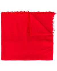 Polo Ralph Lauren Шарф С Вышитым Логотипом - Красный
