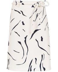 Egrey - Printed Skirt - Lyst