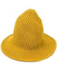 AMI - Rib-knitted Bucket Hat - Lyst
