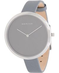 Bering - Minimal Watch - Lyst