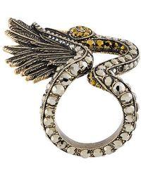 Lanvin - Crystal Ring - Lyst