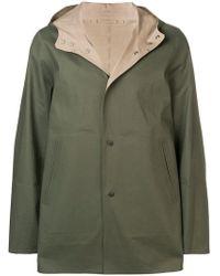 Herno - Reversible Hooded Coat - Lyst