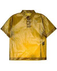 DUST - Clear Boxy Shirt - Lyst