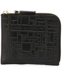 "Comme des Garçons - Cartera ""'Embossed Logo"" - Lyst"