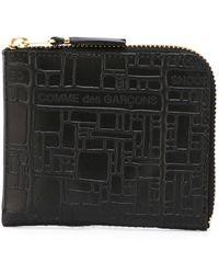 Comme des Garçons - Comme Des Garçons Wallet 'embossed Logo' Wallet - Lyst