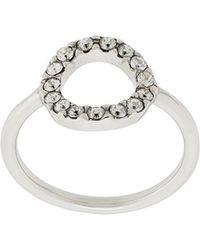 Isabel Marant - Circle Crystal Ring - Lyst