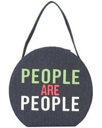 Christian Siriano - People Are People Shoulder Bag - Lyst