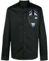 Diesel Black Gold - Appliqué Shirt - Lyst