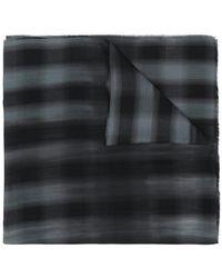 Lanvin - Checkered Scarf - Lyst