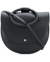 Theory - Round Satchel Bag - Lyst