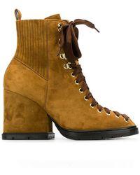 Santoni - Lace-up Boots - Lyst