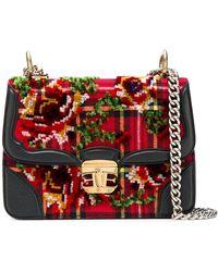 Ermanno Scervino - Scottish Check Chain Bag - Lyst