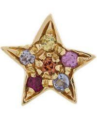 Carolina Bucci - 18kt Gold Star Stones Earring - Lyst
