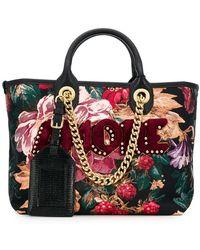 Dolce   Gabbana Small Leather Iguana Print Sicily Bag in Black ... c3ac22e7f1c0d